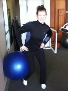 Hips unbalanced, weight shift into the ball, torque on knee, poor hip stabilization