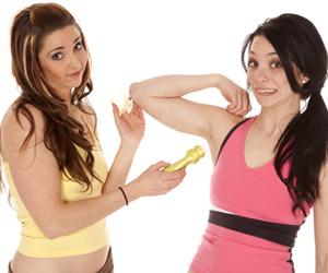 deodorant, antiperspirant, breast health, smelly, natural