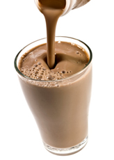 chocolate, recovery, smoothie