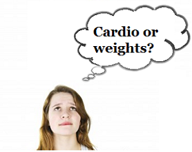 Cardio or weights?