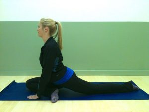 pigeon stretch, hip flexors, glutes, le physique, personal training