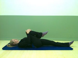 Supine hip flexor, beginners, le physique personal training
