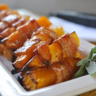 Apple butternut squash skewers, vancouver, Le physique, wholeicious, andrina, fall recipe