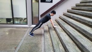 Incline Pushup 1